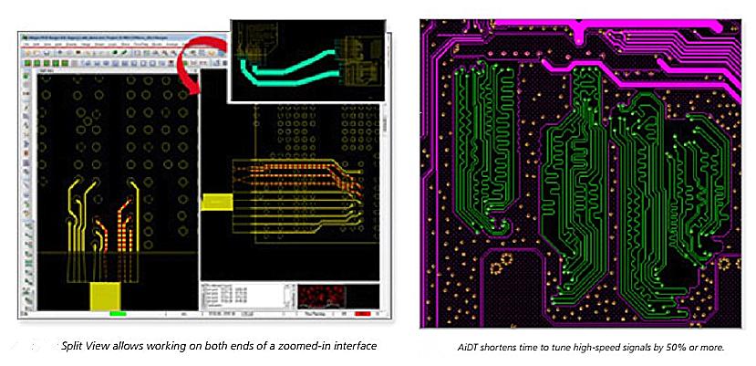 高速设计功能提供多方面的电气规则,确保pcb设计符合高速接口的规范.